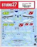 DC746C   1/12  YZR-M1 MotoGP 2005   (T社1/12 YZR-M1対応)