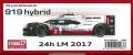 FD24015 919hybrid 24h LM 2017  1/24scale multimedia kit