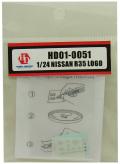 HD01-0051 1/24 NISSAN R35 LOGO