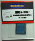 HD02-0377 GENERAL USE CABLE TIES 【HOBBY DESIGN】