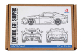HD02-0402 TOYOTA GR SUPRA (DETAIL -UP SET TAMIYA24351)    Hobbydesign