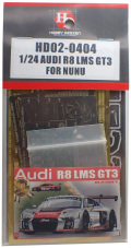 HD02-0404 1/24 AUDI R8 LMS GT3 FOR NUNU  Hobbydesign