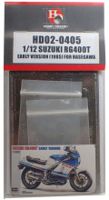 HD02-0405 1/12 SUZUKI RG400T EARLY VERSION(1985)FOR HASEGAWA  Hobbydesign
