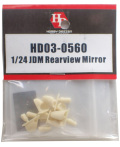 HD03-0553 1/24 JDM Rearview Mirror   Hobbydesign