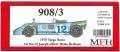 K353  908/3  '70 Targa florio  1/24scale Full detail kit