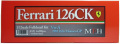 K529 Ver.A: Ferrari 126CK 1981 Rd.6 Monaco GP 1/12scale Fulldetail Kit