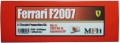 K568 【Vsr.A】 Ferrari F2007  1/12scale Proportion Kit 【別売りデカール付き+500円】