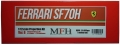 K608 (Ver.B) Ferrari SF70H 2017 Rd.6 Monaco GP1/12scale Proportion Kit