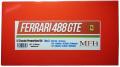 K617 (Ver.A)  Ferrari 488 GTE  : 2017 LM 24hours 1/12scale Proportion Kit