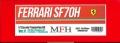 K623 (Ver.C) Ferrari SF70H 2017 Rd.11 Hungarian GP 1/12scale Proportion Kit