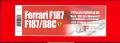 K625 (Ver.B) Ferrari F187  1987  Rd.4 Monaco GP  1/12scale Fulldetail Kit