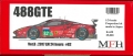 K630 【Ver.B】 Ferrari 488 GTE  1/24scale Proportion Kit