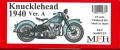 K637 【Ver.A】 : Knucklehead 1940 1/9scale Fulldetail Kit