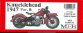 K638  【Ver.B】 : Knucklehead 1947 1/9scale Fulldetail Kit