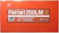 K656 (Ver.D)  Ferrari 250LM  1/12scale Fulldetail Kit