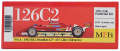 K795 126C2 【Ver.A】 1982Rd.2 Brazilian GP 1/20scale Fulldetail Kit