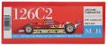 K797 126C2 【Ver.C】 1982Rd.4 San Marino GP 1/20scale Fulldetail Kit