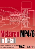 "COLLECTION Vol.2 ""McLaren MP4/6 in Detail""  製作参考資料本"