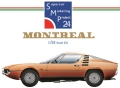 bkit14  MONTREAL 1/24scale kit  Supercar Modeling Project24