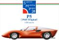 bkit19  P5 1/24scale kit Supercar Modeling Project24