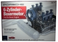 Porsche_Engine 1/4scale  ポルシェフラット6 ボクサーエンジン(透明モーターライズ)