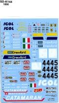 SDK-144 F40'96LeMans IGOL #44#45