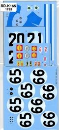 SDK-165 Tipo33 '67Seb#65.66 Nur#20.21