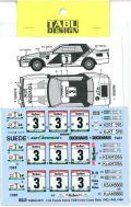 TABU24071 1/24 TA64 lvory Coast Rally 1983.1985.1986 Option(A社1/24対応)