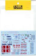 TABU24087 1/24 TS050 LM2016 LogoDecal (T社1/24TS050 HYBRID対応)