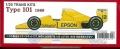 TK2032R  Type101 1989  (T社1/20 LOTUS102B対応)
