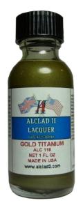 ALC118  ゴールド チタ二ウム  GOLD TITANIUM (メタリックカラー)