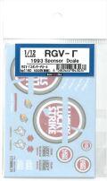 bp1160 1/12 RGV-Γ 1993 スポンサーデカール(ミニチャンプス対応)