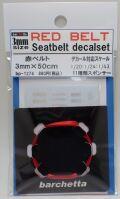 bp1274  幅3mm RED BELT    Sestbelt decal set