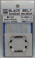 bp1279  幅2mm BLACK  BELT    Sestbelt decal set