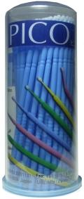 bp784 pico マイクロブラシ(M) ブルー1.5mm  100本入り(100pcs)