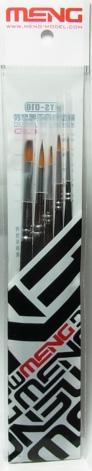bp892  模型用筆5本セット  モンモデル製