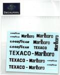 "DP027  1/12 Mclaren M23 '74 ""Marlboro"" logo  (DECAL POOL)"