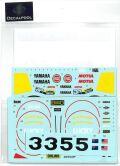DP063  1/12 Yamaha YZR500 Lucky Strike K. Magee & W. Rainey '89 (DECAL POOL)