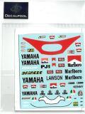DP133 1/12 Yamaha YZR500 Marlboro K. Roberts / E. Lawson Rider '83 (DECAL POOL)