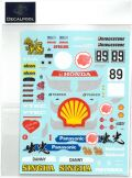 DP152 1/24 Honda Civic EG6 Idemitsu Oil #89 Macau Guia Race 95'  (DECAL POOL)
