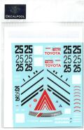 DP163  1/24 Toyota Levin AE92 ADVAN Gr. A '1990 for Beemax  (DECAL POOL)
