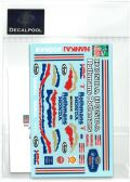 DP164  1/12 Honda NSR500 Rothmans M. Doohan rider '89 (DECAL POOL)