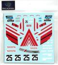 DP169 1/24 Toyota Corolla Levin AE86 ADVAN Inter Tec Winner 85' for Fujimi  (DECAL POOL)