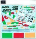 DP172  1/24 Honda Civic EF9 JACCS #14 JTC 90' for EF3  (DECAL POOL)