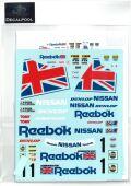 DP174  1/24 Nissan Skyline GT R32 Reebok Gr. A '90 (DECAL POOL)