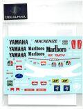 DP178  1/12 Yamaha YZR500 Marlboro N. Mackenzie Rider '89  (DECAL POOL)