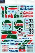 DP219 1/12 Nissan Skyline R32 GT-R Castrol #23 Macau Guia '90 for Fujimi  (DECAL POOL)