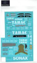 DP238 1/24 AMG Mercedes Benz TABAC #3/4 C-Class DTM'94 (DECAL POOL)