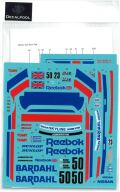 DP239 1/24 Nissan Skyline GTS-R Reebok #50/23 Gr.A/Macau Guia'89 (DECAL POOL)