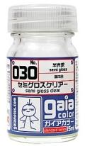 G030  セミグロスクリアー semi gloss clear 半光沢 semigloss 15ml